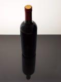 Aún-vida de la botella de vino Fotografía de archivo