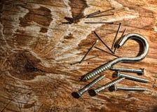 Aún-vida de la carpintería Foto de archivo