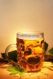 Aún-vida de la cerveza Fotos de archivo
