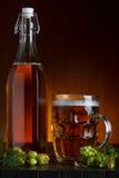 Aún-vida de la cerveza Fotos de archivo libres de regalías