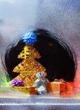 Aún-vida de la Feliz Navidad Foto de archivo