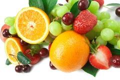 Aún-vida de la fruta fresca Fotografía de archivo libre de regalías