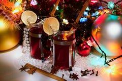 Aún-vida de la Navidad Foto de archivo