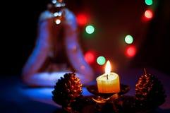 Aún-vida de la Navidad Foto de archivo libre de regalías