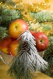 Aún-vida de la Navidad Imagenes de archivo
