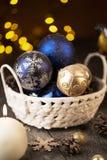 Aún-vida de la Navidad Imagen de archivo libre de regalías