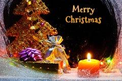 Aún-vida de la Navidad del invierno Foto de archivo
