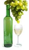 Aún-vida de la uva y del vino Fotografía de archivo