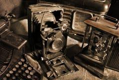 Aún-vida de la vendimia Imagenes de archivo