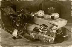 Aún-vida de la vendimia Foto de archivo