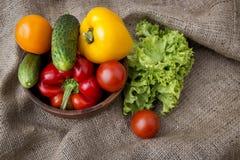 Aún-vida de las verduras Fotografía de archivo libre de regalías