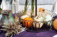 Aún-vida de las verduras del otoño Foto de archivo