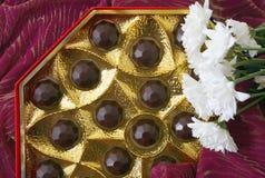 aún-vida de los chocolates Fotografía de archivo libre de regalías