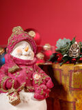 Aún-vida de Navidad Foto de archivo