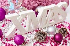 Aún-vida de Navidad Fotos de archivo libres de regalías