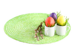 Aún-vida de Pascua. Fotografía de archivo