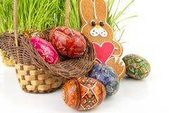 Aún-vida de Pascua Imagen de archivo