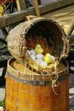 Aún-vida de Pascua Fotos de archivo