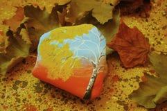 Aún-vida de piedra del otoño Imágenes de archivo libres de regalías