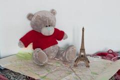 Aún-vida de Teddy Bear Imagen de archivo libre de regalías