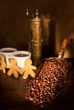 Aún-vida del café Fotos de archivo libres de regalías