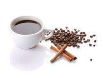 Aún-vida del café Imagen de archivo libre de regalías