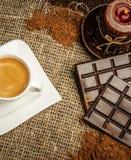 Aún-vida del café Foto de archivo libre de regalías