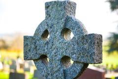 Aún-vida del cementerio - coss célticos Imagen de archivo libre de regalías