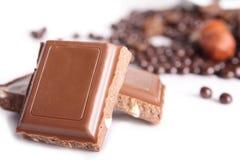 Aún-vida del chocolate Fotos de archivo