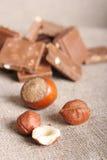 Aún-vida del chocolate Imagen de archivo
