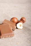 Aún-vida del chocolate Imagen de archivo libre de regalías