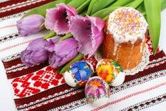 Aún-vida del día de fiesta de Pascua Imagenes de archivo