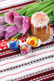 Aún-vida del día de fiesta de Pascua Imagen de archivo libre de regalías