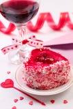 Aún-vida del día de San Valentín Fotos de archivo libres de regalías