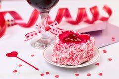 Aún-vida del día de San Valentín Imagen de archivo libre de regalías