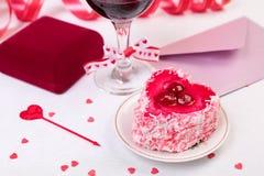 Aún-vida del día de San Valentín Foto de archivo
