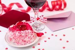 Aún-vida del día de San Valentín Imágenes de archivo libres de regalías