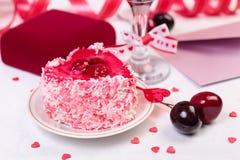 Aún-vida del día de San Valentín Fotografía de archivo libre de regalías