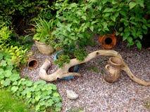 Aún-vida del jardín Fotografía de archivo libre de regalías