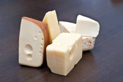 Aún-vida del queso Imagen de archivo