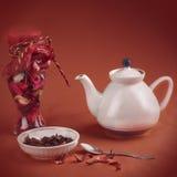 Aún-vida del té Imagen de archivo