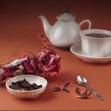 Aún-vida del té Fotos de archivo