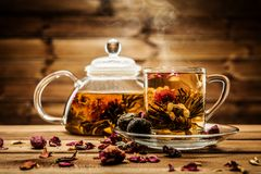 Aún-vida del té foto de archivo