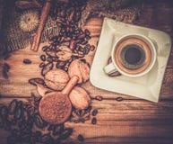 Aún-vida del tema del café Imagen de archivo