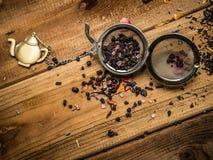 Aún-vida del tema del té Imagen de archivo libre de regalías