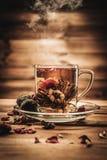 Aún-vida del tema del té Foto de archivo libre de regalías