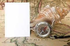Aún-vida del viajero Fotografía de archivo libre de regalías