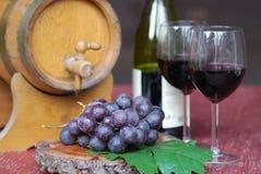 Aún-vida del vino Fotos de archivo libres de regalías