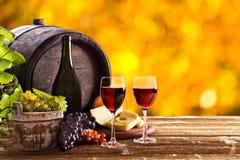 Aún-vida del vino Foto de archivo