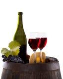 Aún-vida del vino Imagen de archivo libre de regalías
